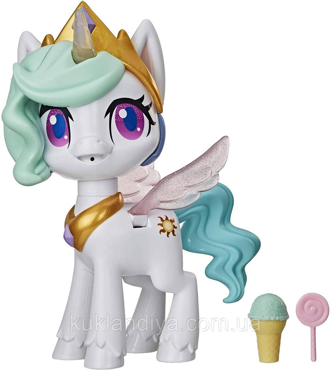 My Little Pony интерактивная Принцесса Селестия   Волшебный поцелуй 25 см