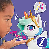 My Little Pony интерактивная Принцесса Селестия   Волшебный поцелуй 25 см, фото 8