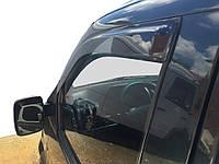 Mercedes Vito W638 1996-2003 гг. Ветровики (2 шт, DDU-Sunflex) Черные, непрозрачные