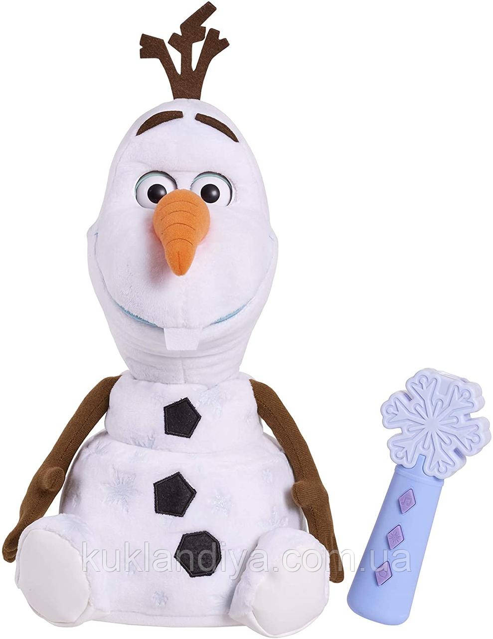 Disney Frozen 2 Follow-Me Friend интерактивный Снеговик Олаф 37 см