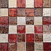 Мозаика Декор MIX RED 5 см