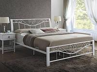 Кровать двуспальная Signal PARMA 160х200 Белый PARMA160B, КОД: 1923721