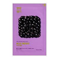 Тканевая маска для лица с ягодами асаи Holika Holika Pure Essence Mask Sheet - Acaiberry 463485, КОД: 1897062