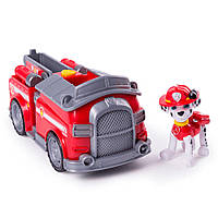 Рятувальний автомобіль трансформер Spin Master Paw Patrol з водієм Маршал SM16601 0931, КОД: 2429651