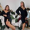 Нарядное женское люрексовое платье, фото 2