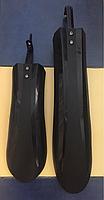 Комплект крылья для фэтбайка 4.0 внедорожника (fat bike) 24-26 пластик