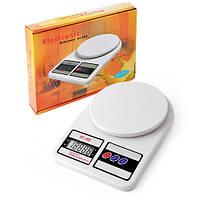 Весы кухонные электронные, весы для кухни SF-400, 10кг (1г)