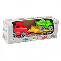 Набор авто Wader Kid cars Sport 3 эл. Пикап + квадроцикл 39543, КОД: 1709003