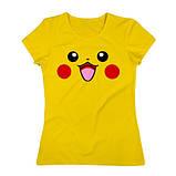 Женская Футболка Pokemon GO ( Желтая ), фото 3