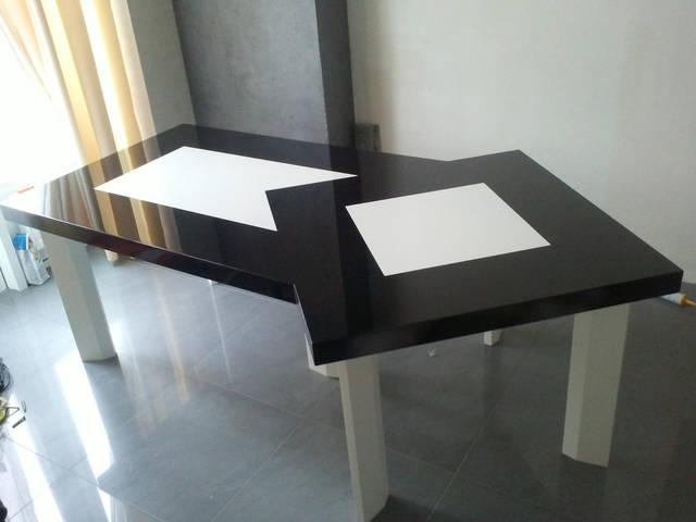 Стол 2,1*1,1 м, МДФ крашенный 19 мм
