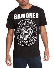Чоловіча чорна Футболка RAMONES Рамонес