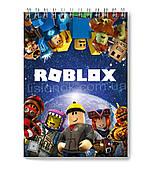 Блокнот Roblox для заметок в клеточку (50 листов) с героями любимой игры Роблокс