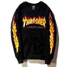 Свитшот Thrasher мужской | Трешер кофта Skate Mag | Кофта мужская
