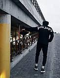 Худи Palm Angels Classic черная унисекс/Бирка оригинал, фото 2