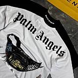 Футболка Palm Angels Classic черная унисекс, фото 5