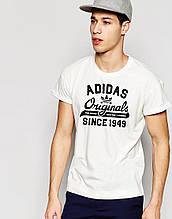 Футболка Адідас | Футболка Adidas біла Original