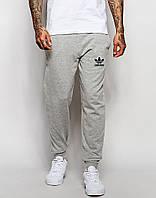 Мужские спортивные штаны Adidas | Адидас серые OLD