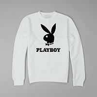 Свитшот SUPREME Playboy,унисекс (мужской,женский,детский) белый