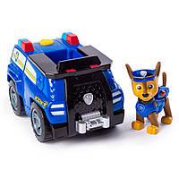 Спасательный автомобиль трансформер Spin Master Paw Patrol с водителем Гонщик SM16601 0924, КОД: 2429649