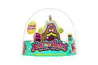 Ігрова фігурка Nanables Jazwares Small House Місто Магазин солодощів Печиво з молоком NNB0012, КОД: 2430139