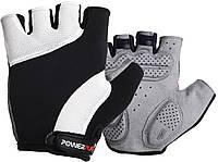 Велорукавички PowerPlay 5041 XL Чорно-білі 5041XLWhite, КОД: 1323791