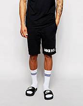 Шорти Nike ( Найк ) чорні чоловічі трикотажні