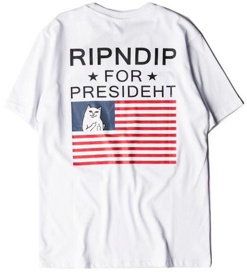 Футболка мужская RipNDip ror Presideht | Футболка РипНДип
