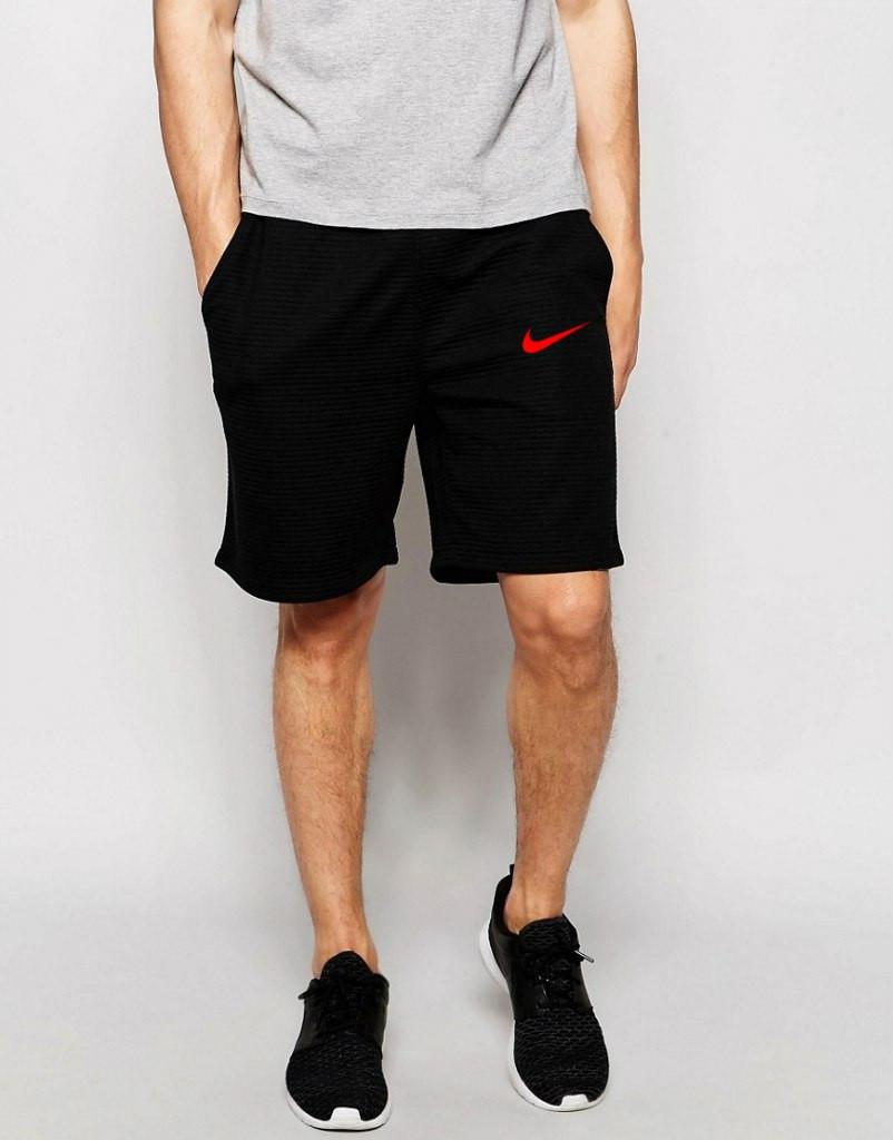 Шорты Nike ( Найк ) трикотажные красная галочка