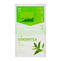 Чайная маска для лица Зеленый чай Holika Holika Tea Bag Mask Green Tea 27 мл 8806334380526, КОД: 1725926