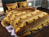 Семейный набор хлопкового постельного белья из Бязи Gold 154193 Черешенка BC4G154193, КОД: 1891488