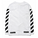 Свитшот OFF WHITE Fleece Logo Белая, фото 2