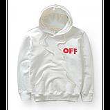 Худи OFF WHITE Off Hoodie ( Белая ), фото 2