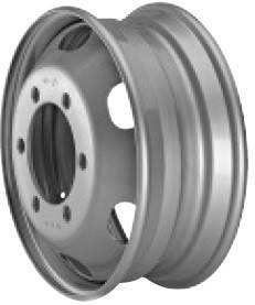 Грузовые диски стальные Hayes Lemmerz  17,5х6,75 6х245 ЕТ128,5 DIA202 без фасок , фото 2