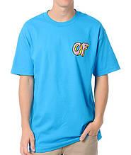 Футболка блакитна Odd Future OF чоловіча