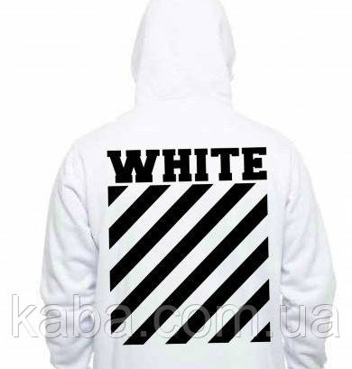 Худи OFF WHITE Off Hoodie ( Белая ) Толстовка OFF WHITE