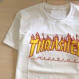 Футболка чоловіча Thrasher Flame. Всі розміри | Трешер Футболка, фото 5