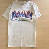 Футболка Thrasher женская Patriot. Все размеры. Реальные фото   Трешер Футболка, фото 2