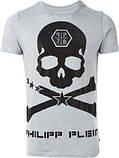 Мужская серая Футболка PHILIPP PLEIN футболка Truth Inside A Lie, фото 2
