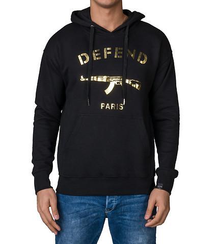 Толстовка Defend Paris Gold logo