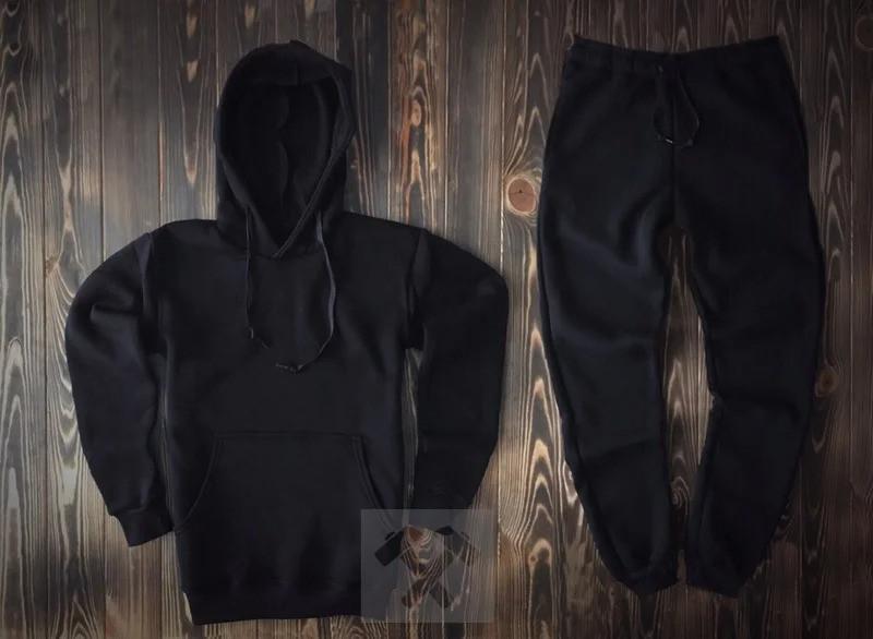 Спортивний костюм чорний (чоловічий, жіночий, дитячий)