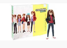 Кукла Создаваемый мир Mattel Creatable World Deluxe Character Kit Customizable Doll original русы, КОД: