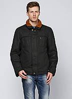 Мужская демисезонная куртка Kaiser L Черная 7172796-L, КОД: 1464738