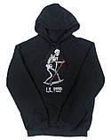 Худі LIL PEEP Лого чорне унісекс, фото 2