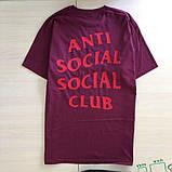 Футболка ASSC бирка Anti Social social club Качество бомба |Бирки | Футболка АССК, фото 3