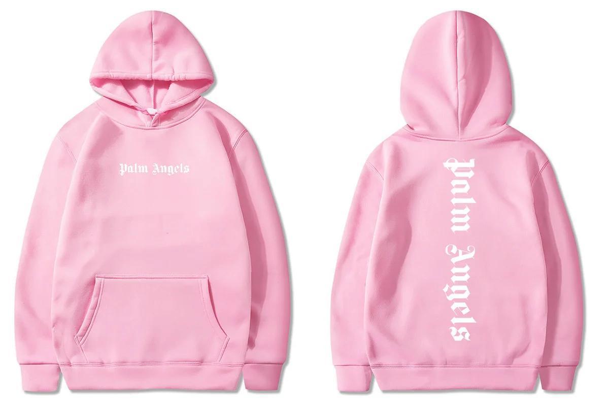Толстовка Palm Angels 2020 розовая (мужская,детская,женская) унисекс