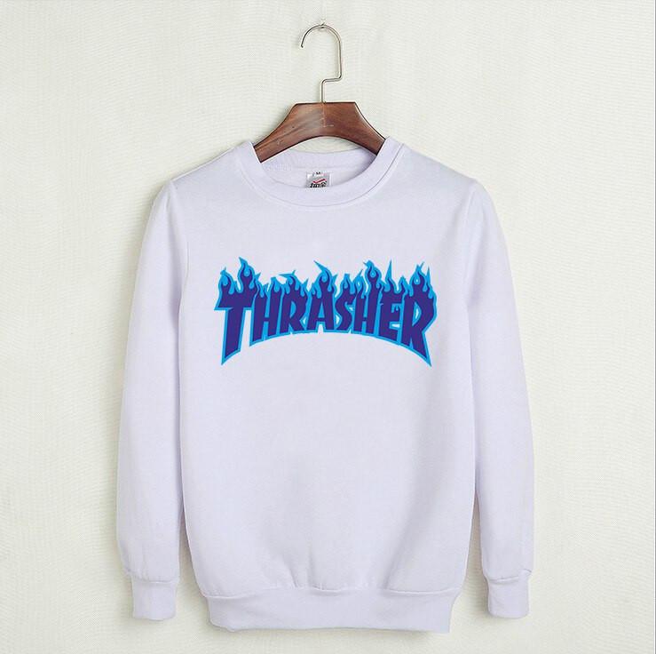 Світшот Thrasher чоловічий | TRASHER BLUE | Трешер кофта