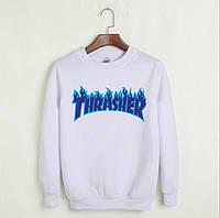 Свитшот Thrasher мужской   TRASHER BLUE   Трешер кофта