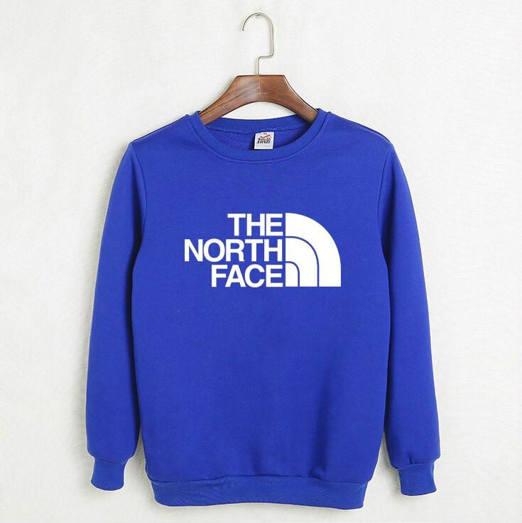 Свитшот синий THE NORTH FACE