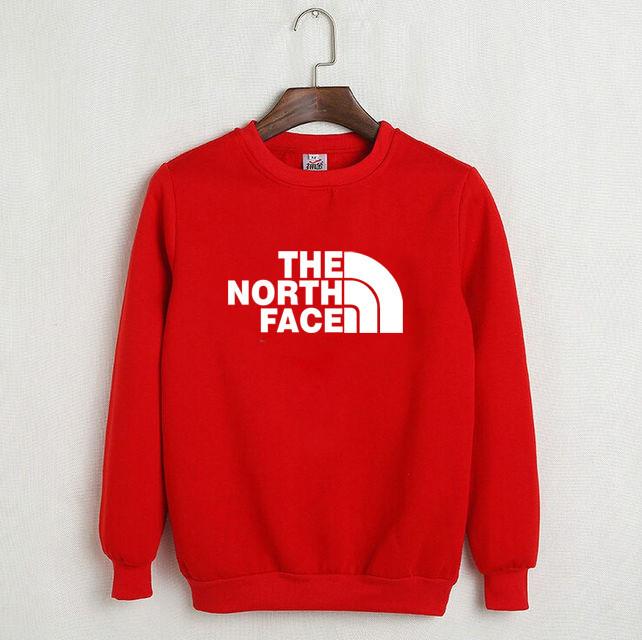 Свитшот красный THE NORTH FACE