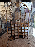 Набор для камина кованый 7 V.I.T. с сеткой K-010, КОД: 1641261